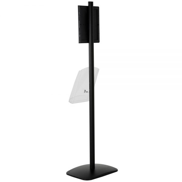 free-standing-stand-in-black-color-with-1-x-8.5x11-frame-in-portrait-and-landscape-and-1-x-8.5x11-clear-shelf-in-acrylic-single-sided-7