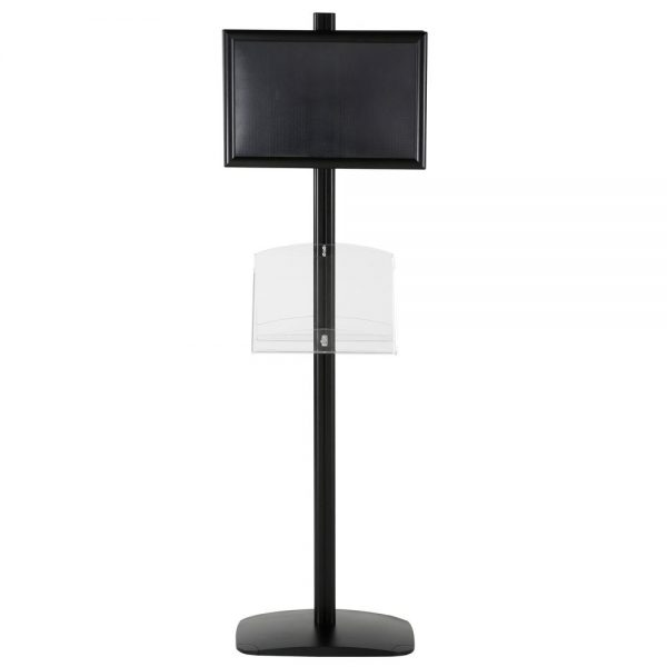 free-standing-stand-in-black-color-with-2-x-11X17-frame-in-portrait-and-landscape-and-2-2-x-8.5x11-clear-shelf-in-acrylic-double-sided-5