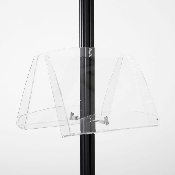 free-standing-stand-in-black-color-with-2-x-11X17-frame-in-portrait-and-landscape-and-2-2-x-8.5x11-clear-shelf-in-acrylic-double-sided-9