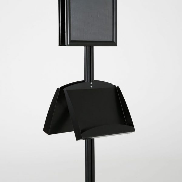 free-standing-stand-in-black-color-with-2-x-11X17-frame-in-portrait-and-landscape-and-2-x-5.5x8.5-steel-shelf-double-sided-7