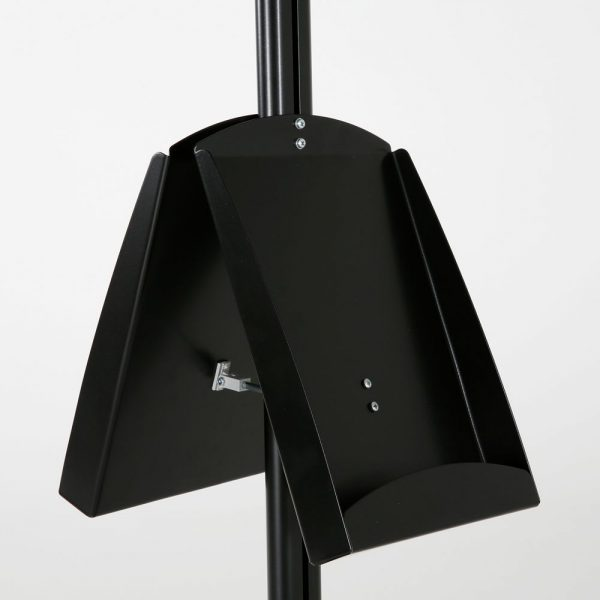 free-standing-stand-in-black-color-with-2-x-11X17-frame-in-portrait-and-landscape-and-2-x-8.5x11-steel-shelf-double-sided-13