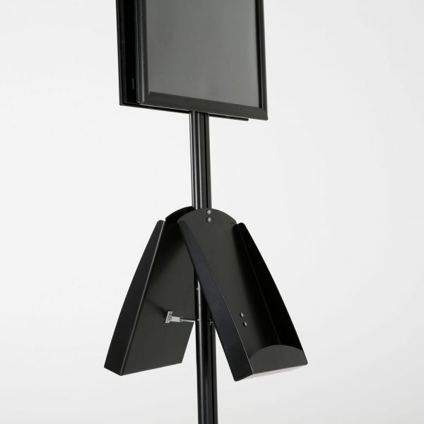 free-standing-stand-in-black-color-with-2-x-11X17-frame-in-portrait-and-landscape-and-2-x-8.5x11-steel-shelf-double-sided-15