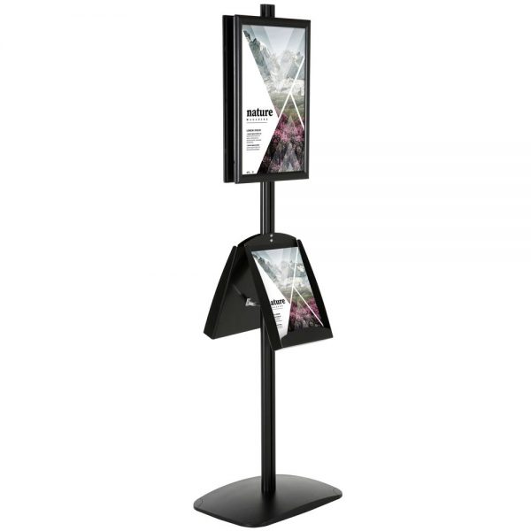 With 2 x (11X17) Frame In Portrait And Landscape And 2 x (8.5x11) Steel Shelf