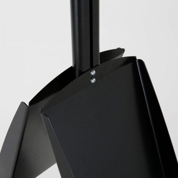 free-standing-stand-in-black-color-with-2-x-11X17-frame-in-portrait-and-landscape-and-2-x-8.5x11-steel-shelf-double-sided-9