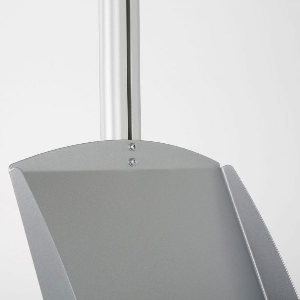 free-standing-stand-in-silver-color-with-1-x-11X17-frame-in-portrait-and-landscape-and-2-x-5.5x8.5-steel-shelf-single-sided-14