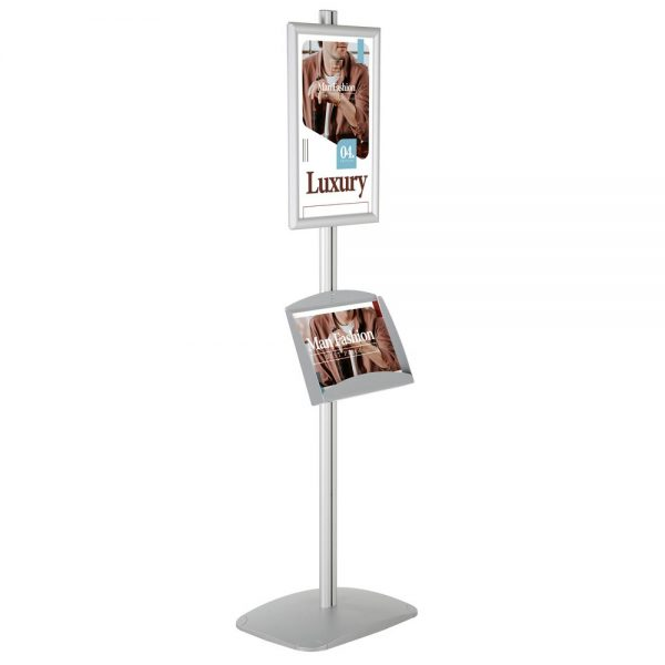 With 1 x (11X17) Frame In Portrait And Landscape And 2 x (5.5x8.5) Steel Shelf