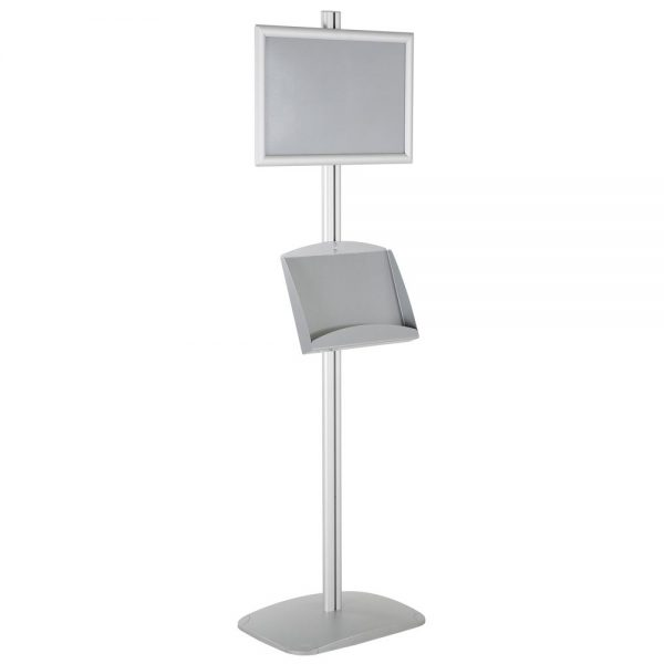 olor-with-1-x-11X17-frame-in-portrait-and-landscape-and-2-x-5.5x8.5-steel-shelf-single-sided