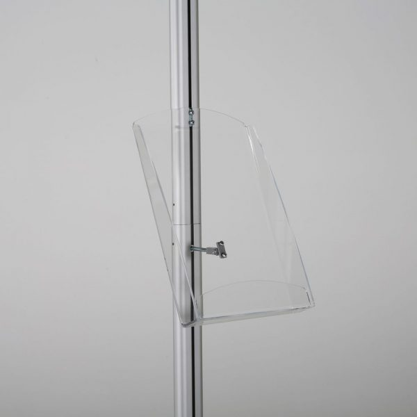 free-standing-stand-in-silver-color-with-1-x-8.5x11-frame-in-portrait-and-landscape-and-1-x-8.5x11-clear-shelf-in-acrylic-single-sided-11