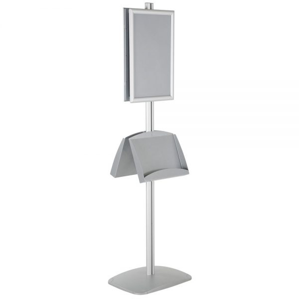 free-standing-stand-in-silver-color-with-2-x-11X17-frame-in-portrait-and-landscape-and-2-x-5.58.5-steel-shelf-double-sided-6