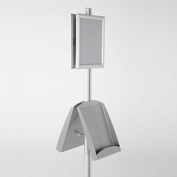 free-standing-stand-in-silver-color-with-2-x-8.5x11-frame-in-portrait-and-landscape-and-2-x-8.5x11-steel-shelf-double-sided-7