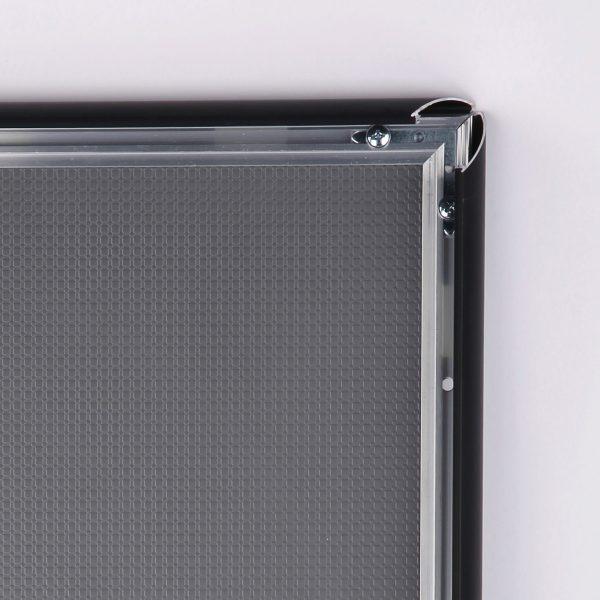14x22-snap-poster-frame-1-inch-black-profile-mitred-corner1