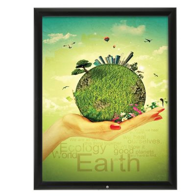 22x28-lockable-weatherproof-snap-poster-frame-1-38-inch-black-mitred-profile