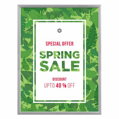 36x48-lockable-weatherproof-snap-poster-frame-1-38-inch-silver-mitred-profile