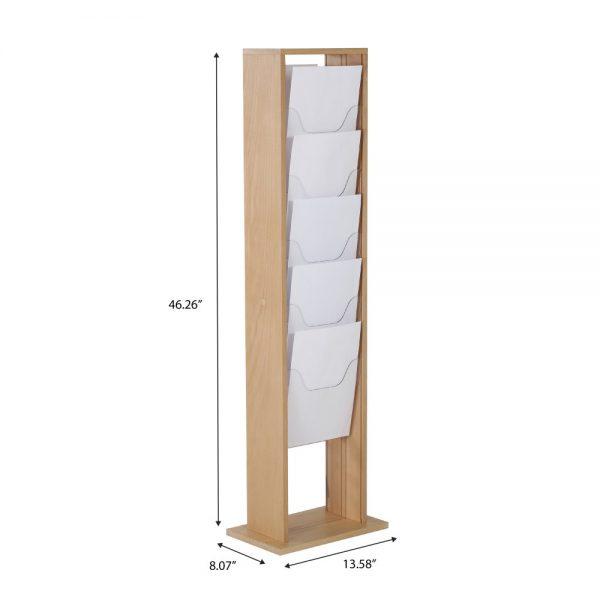 10xa4-wood-magazine-rack-natural-standing (4)