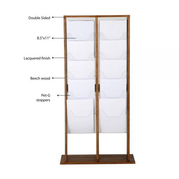 20xa4-wood-magazine-rack-dark-standing (3)
