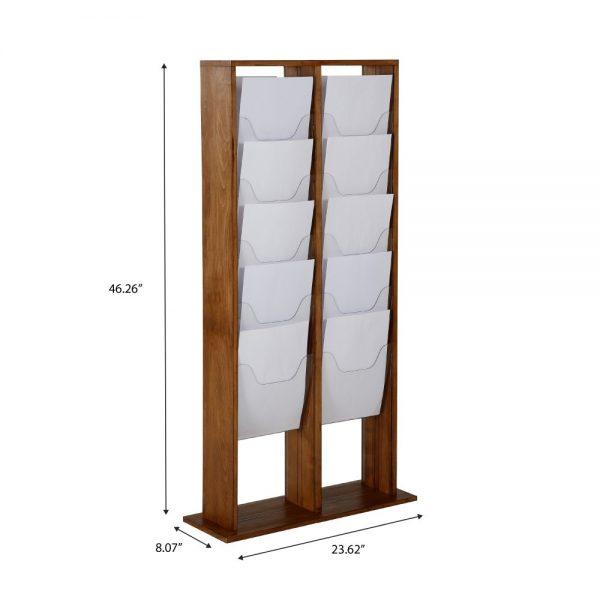 20xa4-wood-magazine-rack-dark-standing (4)