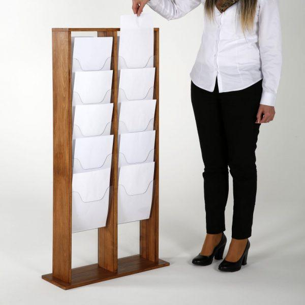 20xa4-wood-magazine-rack-dark-standing (6)