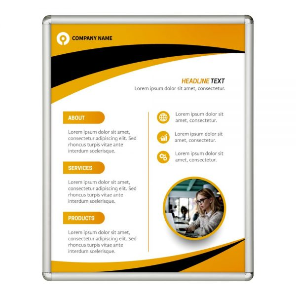 22x28-snap-poster-frame-1-inch-silver-profile-round-corner (2)