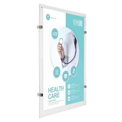11x17-wall-mount-clear-acrylic-sign-holder-frame-chrome-silver-5-pcs-in-a-box (2)