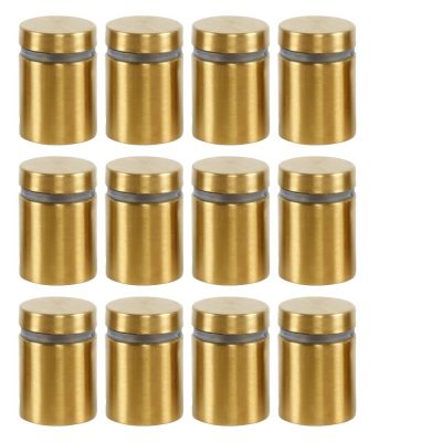 changeable-gold-brush-screws-for-wall-mount-clear-acrylic-sign-holder-frame-12-pcs-per-pack (2)