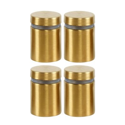 changeable-gold-brush-screws-for-wall-mount-clear-acrylic-sign-holder-frame-4-pcs-per-pack (2)