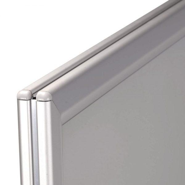 WindPro Silver Frame Gray Water Base Sidewalk Sign (2)