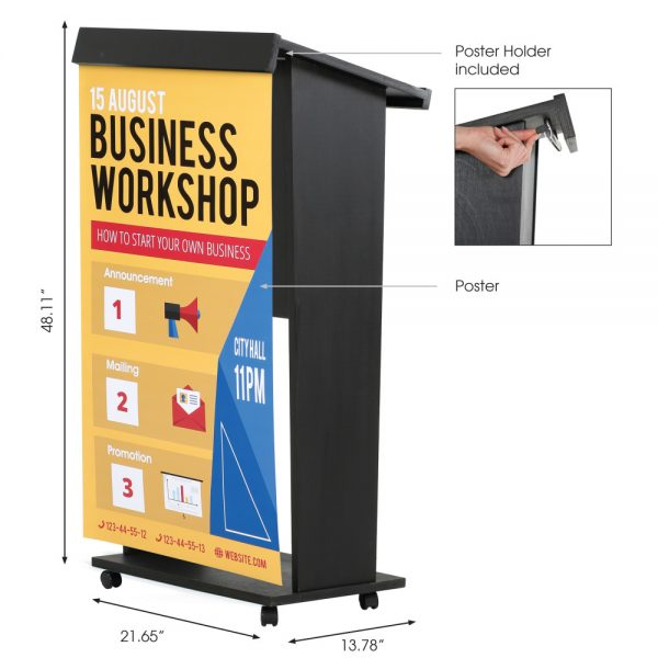 plywood-stand-up-podium-and-lockingcaster-wheels-45-black (2)