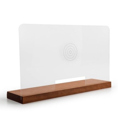 Wood Framed Clear Hygiene Separator