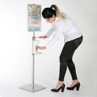 Hand Sanitizer Floor Stand