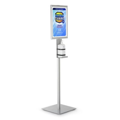 Floor stand For Hand Sanitizer Dispensers
