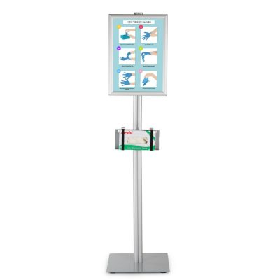 Floor Stand For Healthcare Dispensers