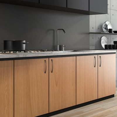 flat-black-arch-cabinet-pull-8-length-7-5-hole-center-modern-contemporary-european-style-solid-heavy-weight (2)
