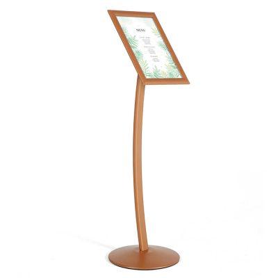 pedestal-sign-holder-restaurant-menu-board-floor-standing-11x17-copper (1)